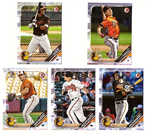 2019 Bowman Prospects - BALTIMORE ORIOLES Team Set