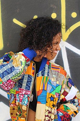 - African Patchwork Bomber Jacket, Festival Jacket, African Clothing