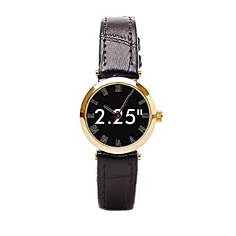 aromar custom small leather watch blank template leather watch