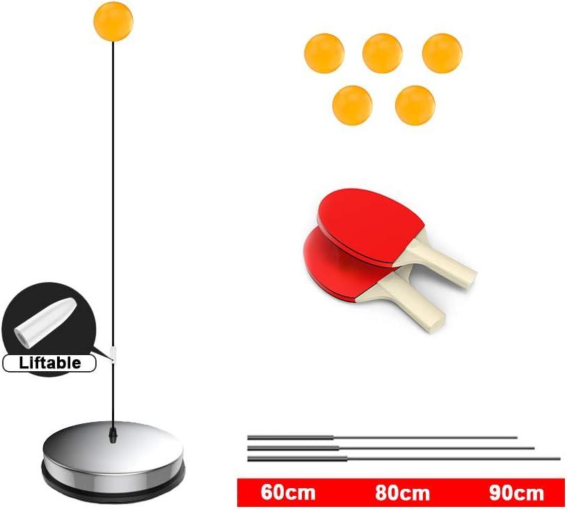 RUIVE Entrenador De Tenis De Mesa Equipo De Entrenamiento De Ping Pong Juguete De Tenis De Mesa Portátil para Adolescentes Entrenador