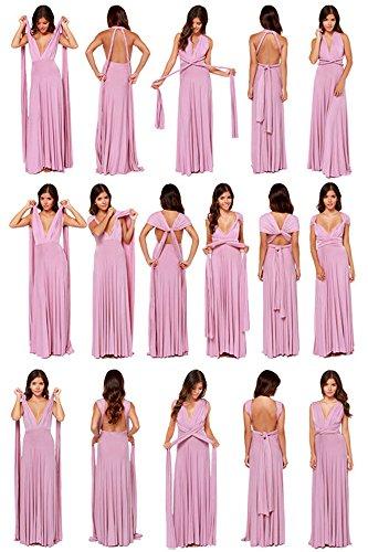 Chuanqi Des Femmes De Robes De Demoiselle D'honneur Formelle Robe Maxi Cocktail Gris