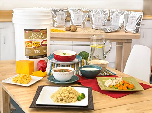 Chef's Banquet All-purpose Readiness Kit 1 Month Food Storage Supply (330 Servings)