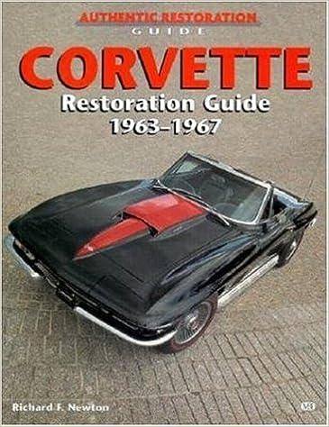 Corvette Restoration Guide, 1963-1967 (Motorbooks Workshop): Richard