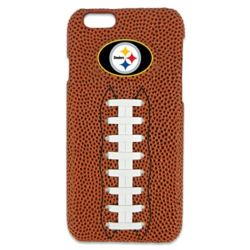 GameWear NFL Pittsburgh Steelers Classic Football iPhone 6 Case, - Football Pittsburgh Brown Steelers Case