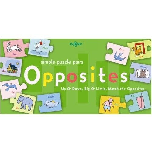 eeBoo Opposites Puzzle Pairs product image