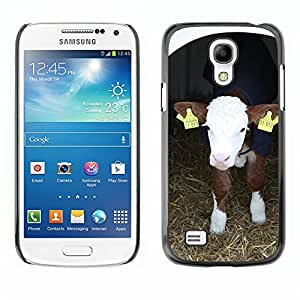 Hot Style Cell Phone PC Hard Case Cover // M00129487 Calf Cattle Farm Stand Animal // Samsung Galaxy S4 Mini i9190