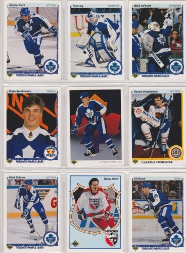 - Toronto Maple Leafs 1990-91 Upper Deck Team Set w/ High Numbers (23 Cards) (Premier Upper Deck Hockey Issue)