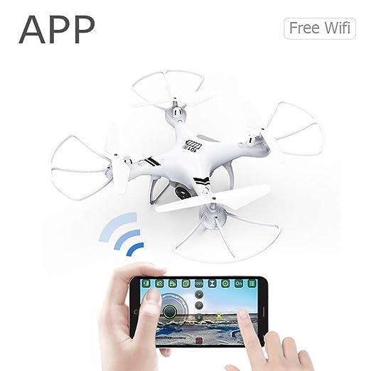 FLYSXP Drone, Cámara De Gran Angular, Cámara HD Vuelve ...