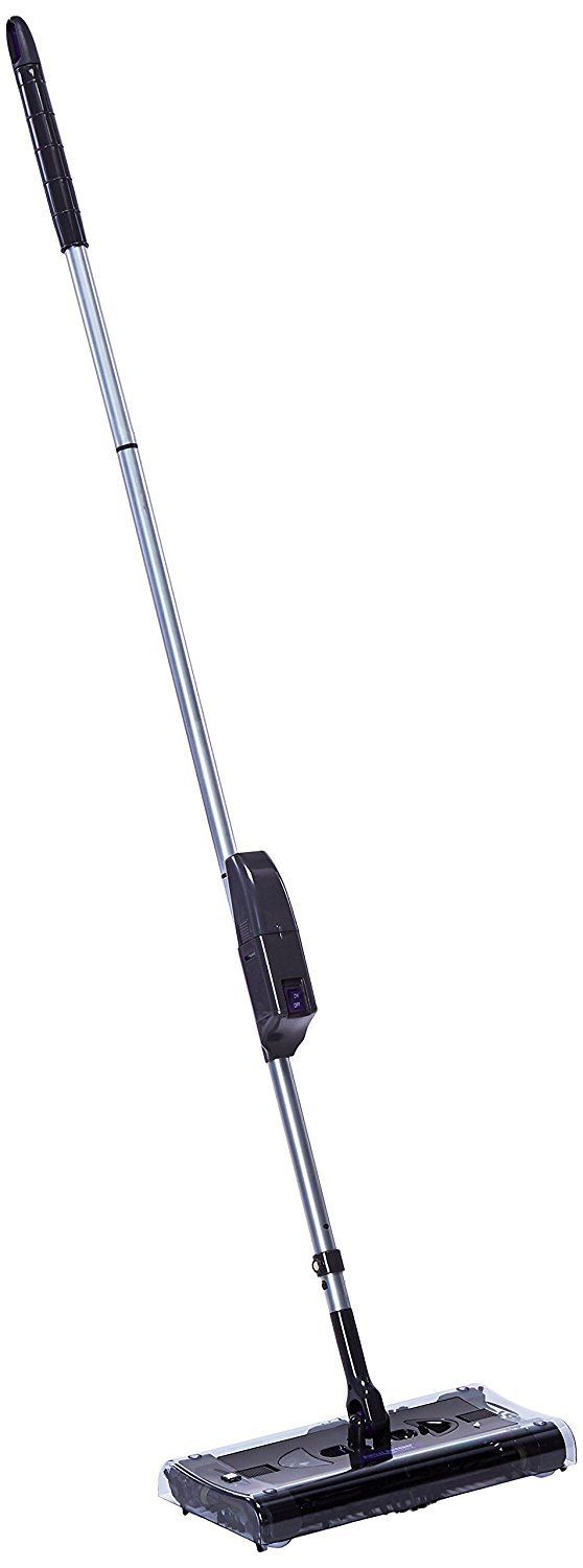 OnTel Products SWSMAX Max Cordless Swivel Sweeper New,Removable, Cleanable, Reusable bristles