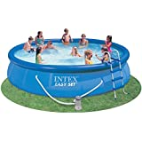 Intex 54913EG Easy Set Pool Set, 15-Feet by 36-Inch, Blue (Discontinued by Manufacturer)
