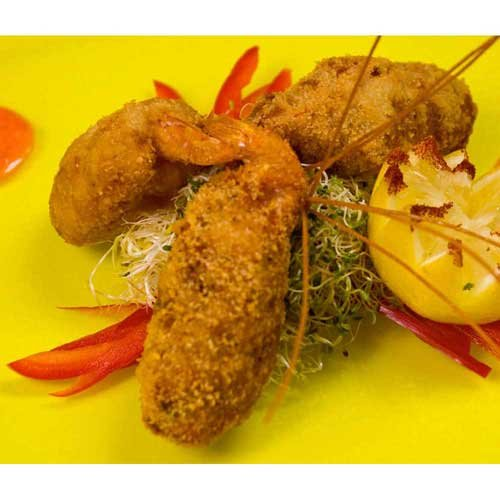 Miss Sallys Raw Breaded Stuffed Tail On Shrimp with Crabmeat, 2.25 Pound -- 4 per case.