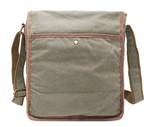 Zhangor Casual Bag outdoor school A Shoulder Canvas Male femalezhangor Work Messenger Small Bag FpanWfax