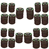 240x Flat Flap Discs Mixed Grit For Angle Grinder 4.5'' (115mm) Sanding Grinding