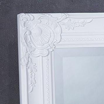 Wandspiegel Spiegel Weiss Ganzkörperspiegel Ankleidespiegel Garderobenspiegel