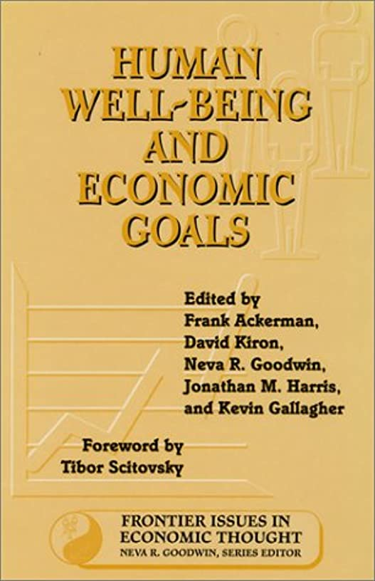 肖像画規模内部Human Well-Being and Economic Goals (Frontier Issues in Economic Thought)