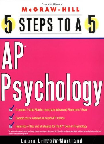 5 Steps to a 5 on the AP: Psychology (5 Steps to a 5 on the Advanced Placement Examinations Series)