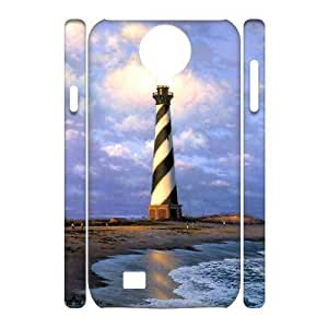 EZCASE Lighthouse Phone Case For Samsung Galaxy S4 i9500 [Pattern-1]