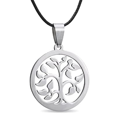 MESE London Tree Of Life Necklace 18K Gold Plated/ Silver Plated Healing Energy Pendant - Elegant Gift Box EMGxNY39C