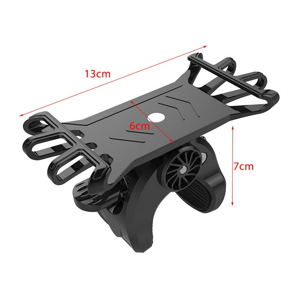SUMAJU Universal Bike Phone Mount Adjustable Bike Mount Sturdy Bicycle Phone Holder Silicone Motorcycle Handlebar Cellphone for Silicone