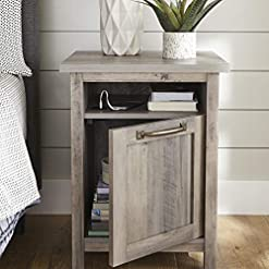 Bedroom Better Homes & Gardens Modern Farmhouse End Table Nightstand with USB farmhouse nightstands