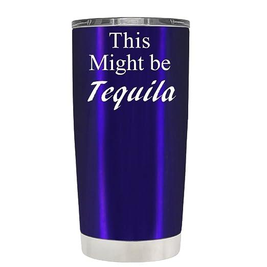 TrekTumblers Vasos de Tequila de This Might Be, Acero Inoxidable ...