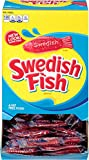 Swedish Fish Gummy Candy - Easter Basket Stuffers, Original, Individually Wrapped, 240 Count