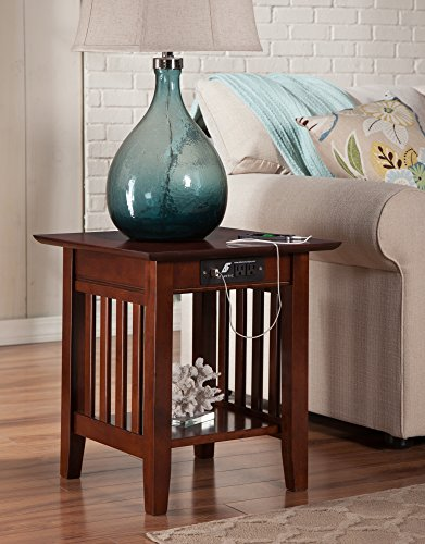 Atlantic Furniture AH14214 Mission End Table