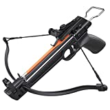 adult starter bow and arrow set - Outdoor Hunting Camping Survival Light Crossbow 50lbs Pistol Fiberglass