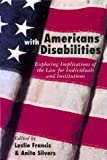 Americans with Disabilities, , 0415923670