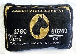 Americanine Express Bank Card Dog Toy