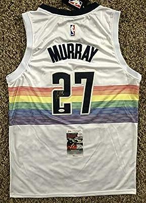 Jamal Murray Autographed Signed Denver Nuggets Jersey JSA COA #27 Kentucky NBA Star !