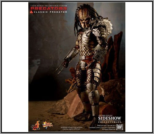 Sideshow Hot Toys Movie Masterpiece Predator Classic Predator 12