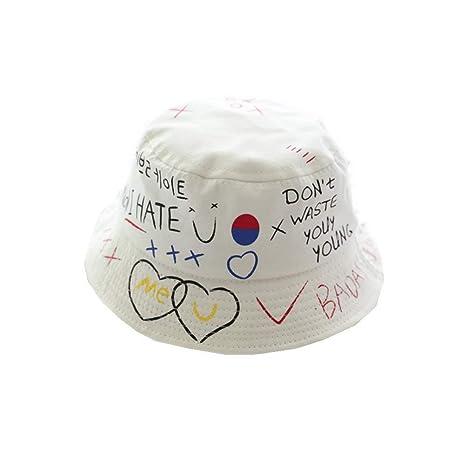 zhuzhuwen Visera de protección Solar Sombrero de Pescador niño ...
