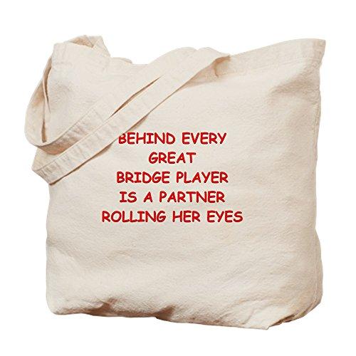 CafePress–bridge4–Gamuza de bolsa de lona bolsa, bolsa de la compra Small caqui