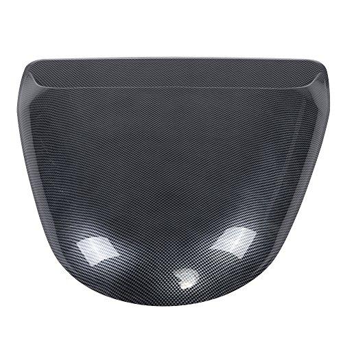 Qiilu Universal Car Dekorative Kohlefaser Look Air Flow Intake Scoop  Motorhaube Vent Abdeckung Haube: Amazon