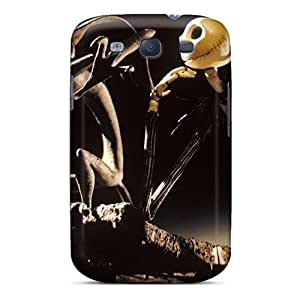 Awesome Nightmare Xmas Flip Case With Fashion Design For Galaxy S3