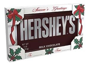 Hershey's Holiday Milk Chocolate Bar, 5-Pound Bar