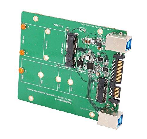 Syba 2.5-inch SATA to mSATA SSD Adapter, Use as External USB 2.0 Storage Device (SD-ADA40077) by Syba (Image #2)