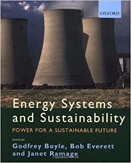 Book Energy Systems and Sustainability