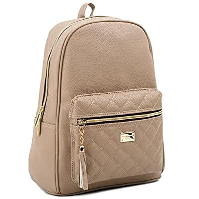 Copi Women's Simple Design Modern Cute Fashion small Casual Backpack