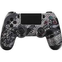 Custom PlayStation 4 Controller Special Edition Silver Cobra Splash Controller