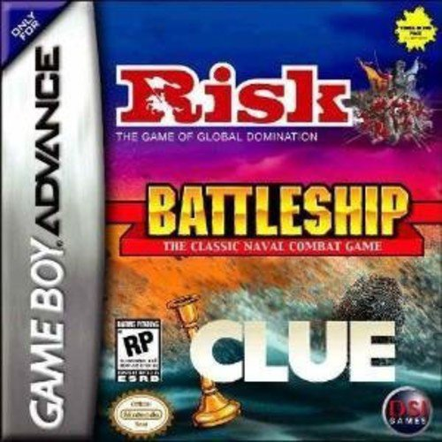 Risk/Battleship/Clue