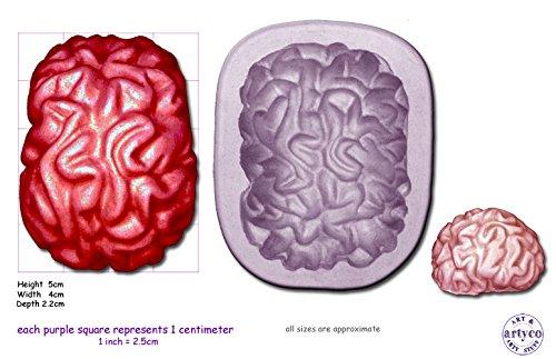 Artyco Moule en silicone en forme de cerveau
