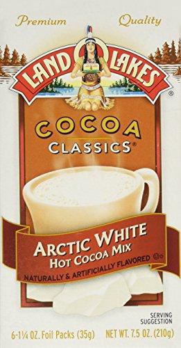 Land O Lakes Cocoa Classics Hot Cocoa Mix Arctic White - (1 Box/6 Packs) ()