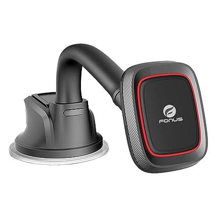 Premium Magnetic Car Mount Dash Windshield Holder Compatible with RED Hydrogen One - Verizon Ellipsis 8 HD - Xiaomi Redmi Note 6 Pro 5, Mi Mix 2 - ZTE ...