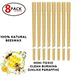 #7: Yunn 16PCS Natural and Non-Toxic Beeswax Candle for Stuffed Ear Type Aromatherapy,Earwax Removal,Phototherapy Earrings Care
