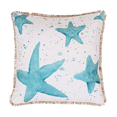 Thro by Marlo Lorenz TH008466001E Samaria Starfish Splatter Pillow, Multicolor