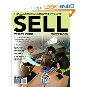SELL (with Review Cards and Premium Web Site Printed Access Card) Thomas N. Ingram, Raymond W. LaForge, Ramon A. Avila and Charles H. Schwepker