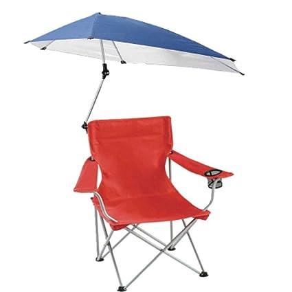 XFZK-Chairs La Silla Que acampa portátil con el Paraguas ...