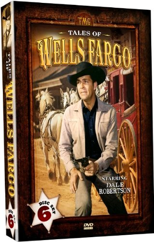 Tales Of Wells Fargo    Best Of The First 5 Seasons  6 Dvd Set